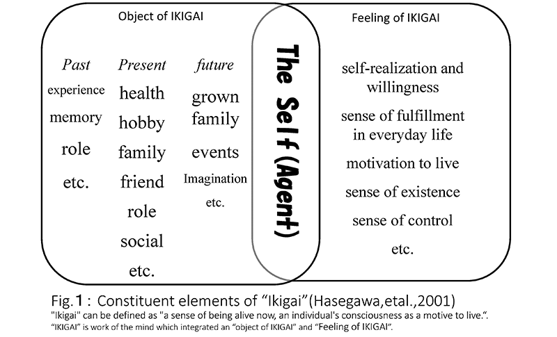 the constituent elements of ikigai