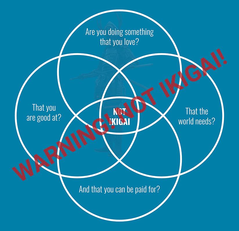 warning not ikigai