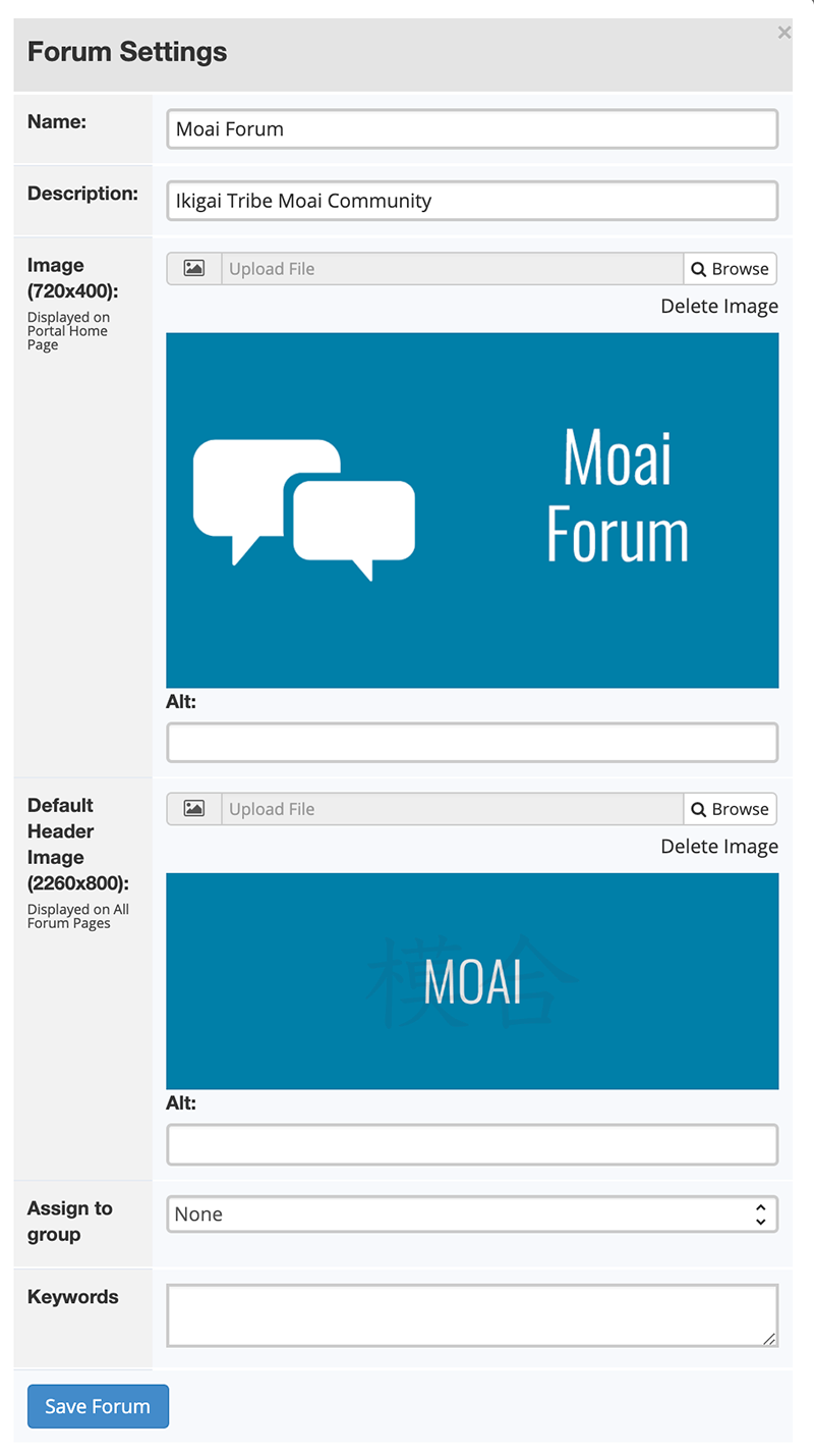 Forum software