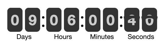 countdown cloak