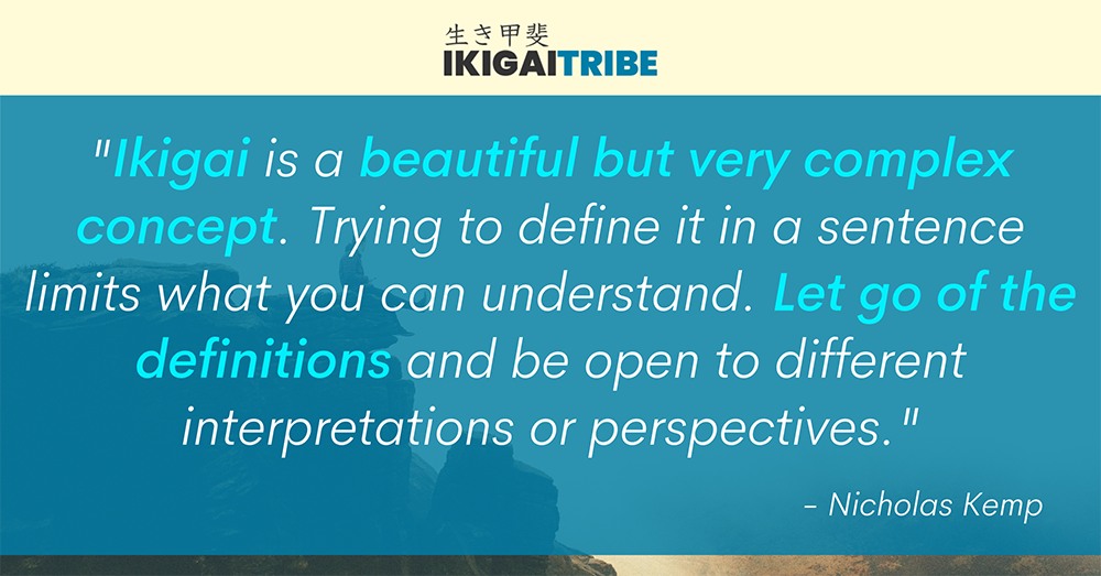 The Ikigai Concept