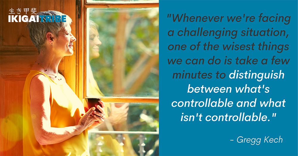 Distinguish What's Controllable