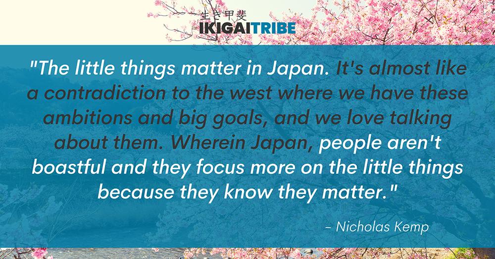 Little Things Matter in Japan