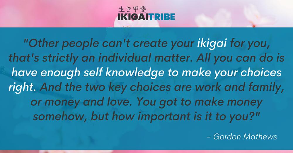 Create your own ikigai