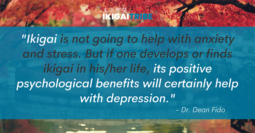 Ikigai helps with depression
